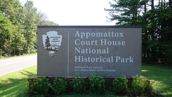 Appomattox Court House National Historical Park - VA - 081318
