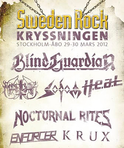 SODOM - Sweden Rock Cruise 29/3 2012
