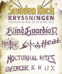 H.E.A.T. - Sweden Rock Cruise 30/3 2012