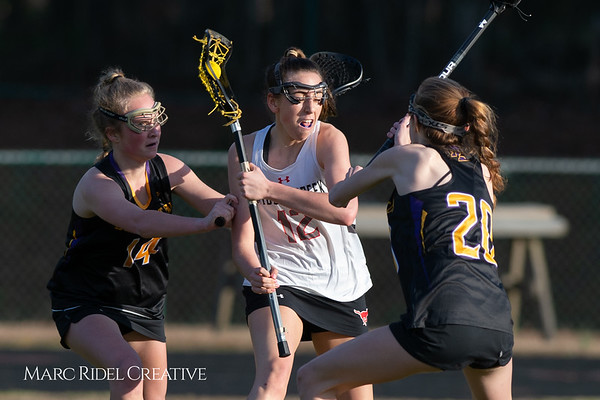 Broughton Lady Caps lacrosse at Middle Creek. February 26, 2019. D4S_1682
