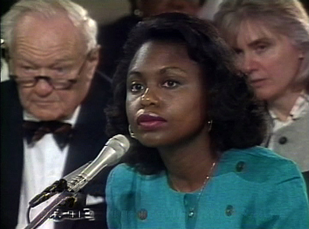 Description of . ANITA: (Documentary Premieres) Freida Mock's documentary about Anita Hill, the lawyer and academic at the heart of the Clarence Thomas confirmation hearings two decades ago, promises to illuminate a still-burning dispute. Hill will be in attendance for the premiere. Any chance of Orrin Hatch, who grilled Hill during the hearings, showing up for a reunion? Not likely, but it would be exciting.
