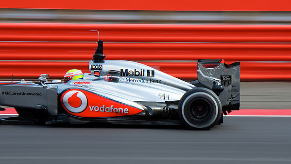F1 Young Driver Test