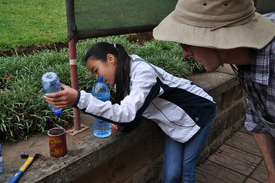 Middle School Urban Vegetable Gardening