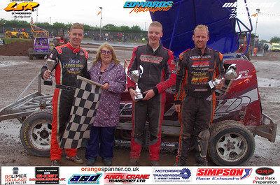 BriSCA F1 Stockcars Saturday Euro weekend