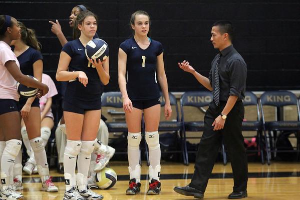 Varsity Volleyball October 2013