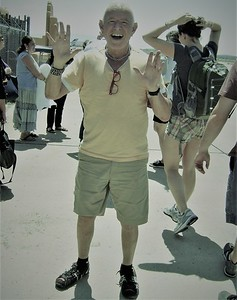 Composer David Del Tredici in Santa Fe, NM
