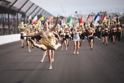 Purdue All American Marching Band at Indianapolis 500 2019