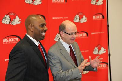 GWU Head FB Coach - Ron Dickerson