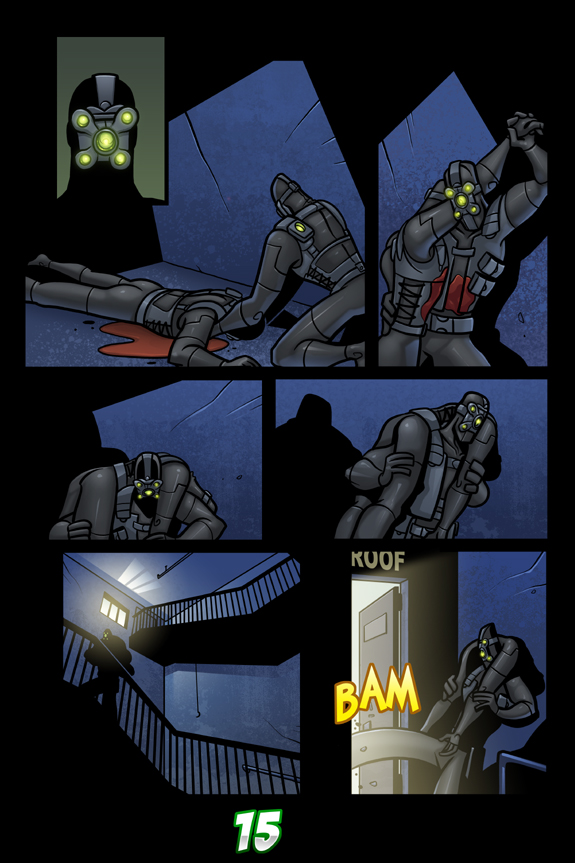Splinter Cell Pandora Tomorrow Page 15
