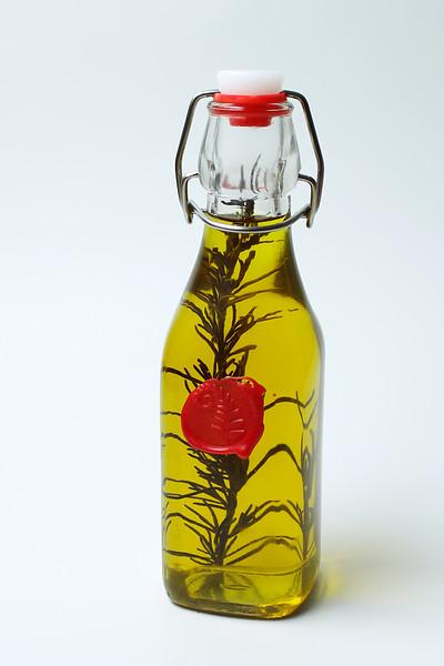 250 ml Rosemary Infused Virgin Olive Oil $15