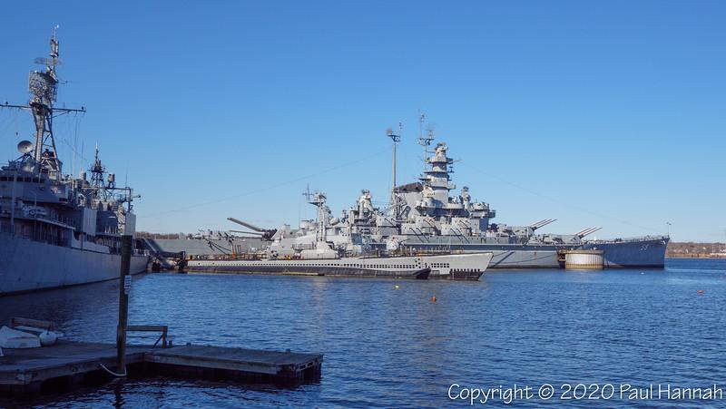 USS Massachusetts & Battleship Cove 2020