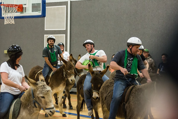 Donkey Basketball Fallon