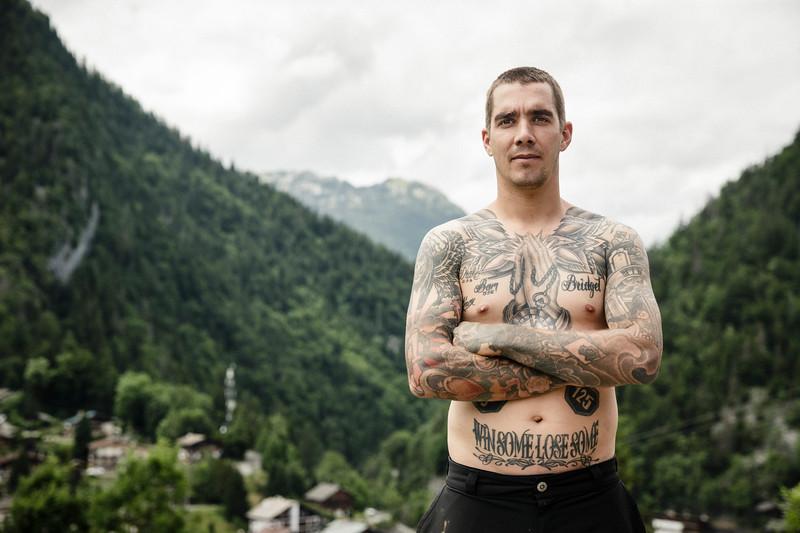 Sam Hill / World Champion Mountain Biker / La Clusaz, France, 2017
