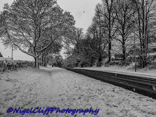 Wordsley In The Snow 10.12.2017