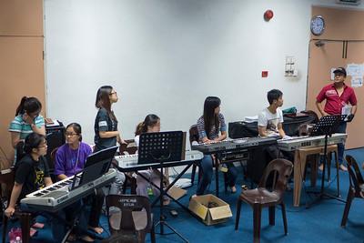 Jazz Band Practice