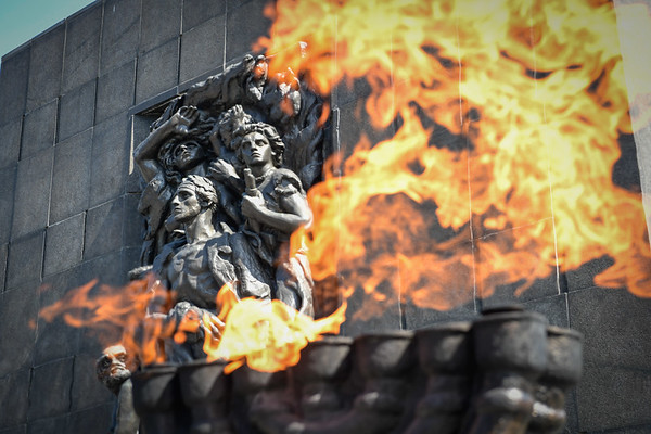 2018 75th anniversary commemoration of the Warsaw Ghetto Uprising