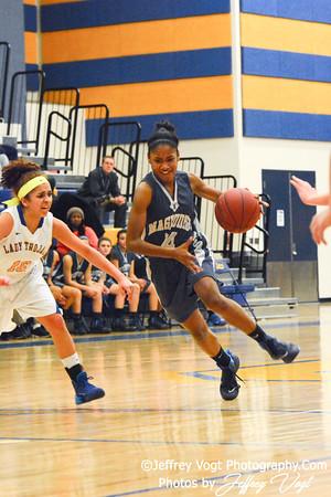 01-28-2014 Gaithersburg HS vs Magruder HS Varsity Girls Basketball, Photos by Jeffrey Vogt Photography
