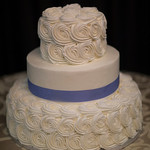 Buttercream Rosettes - The Casual Gourmet, Cape Cod Wedding Caterer