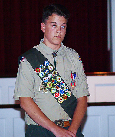 Ricky's Eagle Scout Court of Honor