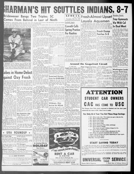 Daily Trojan, Vol. 40, No. 105, March 24, 1949