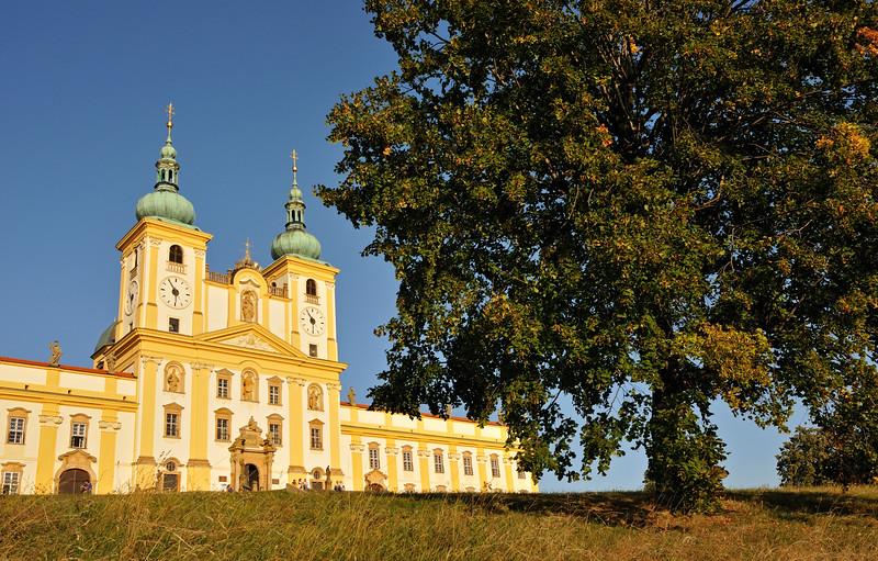 Basilica at Svaty Kopecek near Olomouc