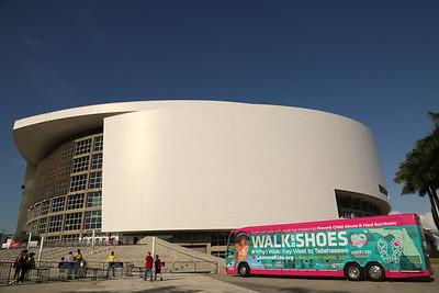 "03-21-14 ""Walk In My Shoes"" Miami Heat vs Memphis Grizzlies by Omar Vega"