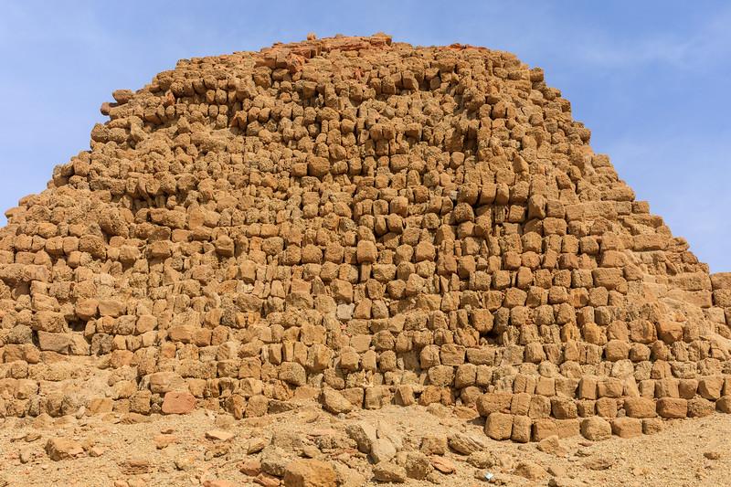 Pyramiden des kuschitischen Königs Karkamani (510 v. Chr.) - Nuri, Sudan