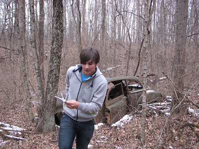 Union County orienteering practice - Jan 30, 2017