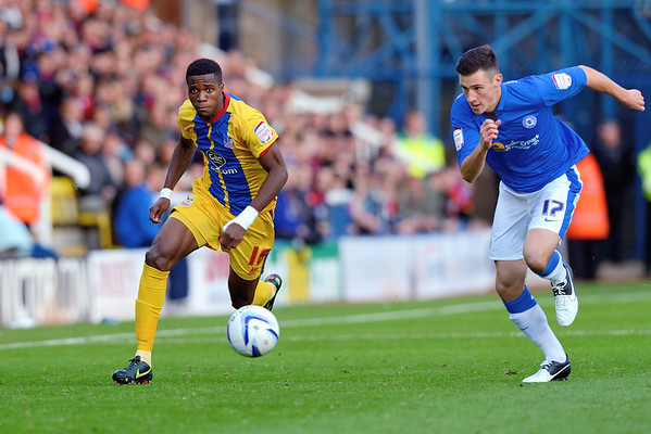Peterborough United 1 - 2 Crystal Palace 10.11.12  NO FOOTBALL IMAGES FOR SALE OR REPRODUCTION