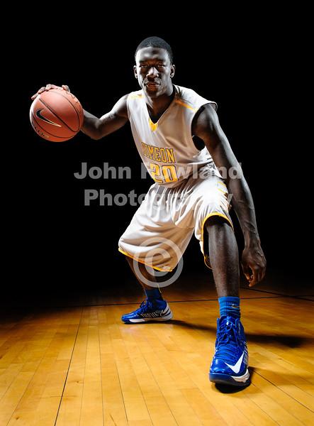 Simeon Basketball Portraits