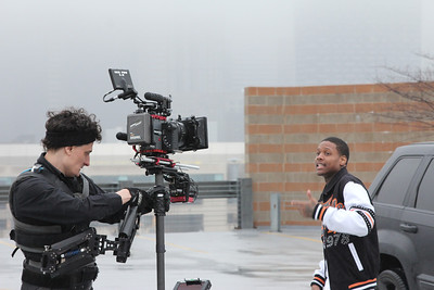 Music Video shoot with Red Epic on the south side