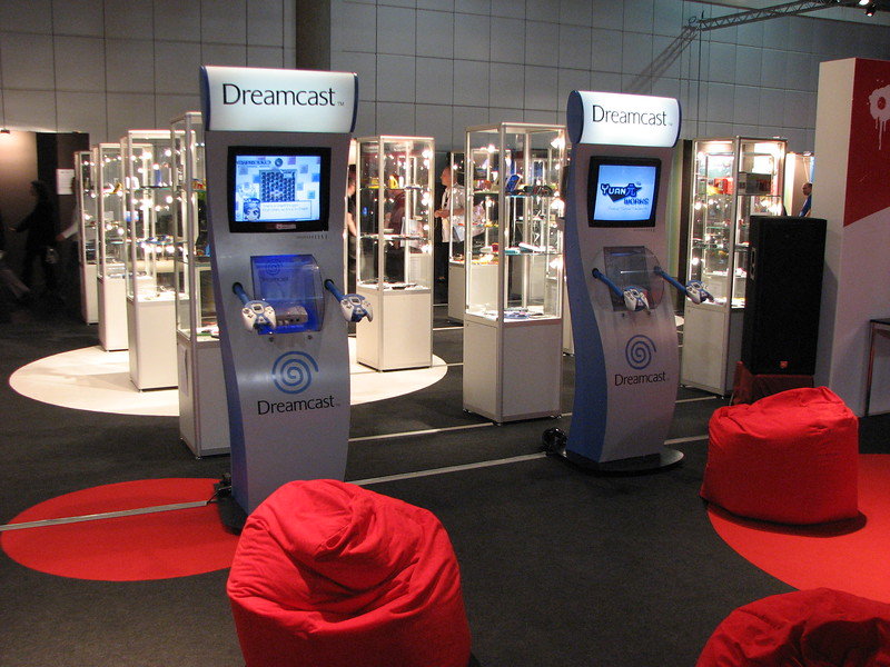 Dreamcast on Games Convention 2008