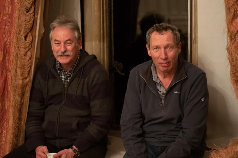 Alan Palmer and Ian Duff
