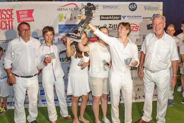 GCF Sponsor Trophy Siegerehrung und Gruppen