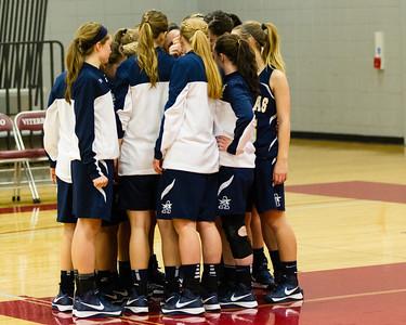 2013 Aquinas Girls Basket Ball vs Holmen
