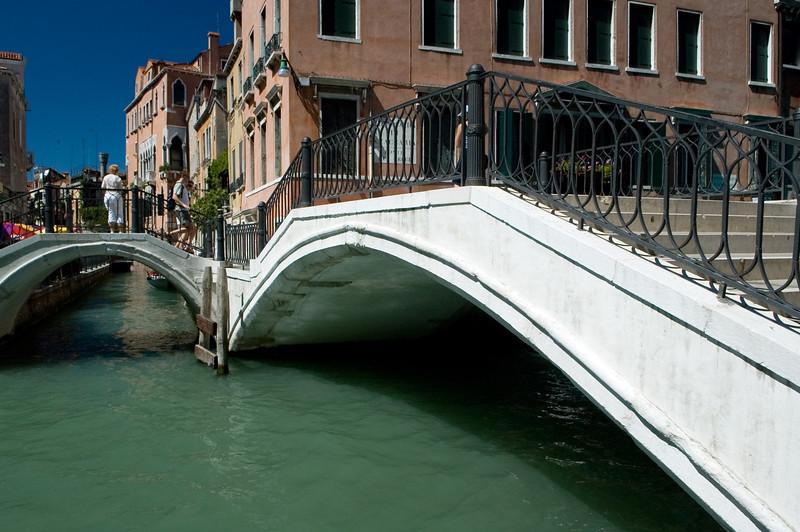 Venetian canal and bridge