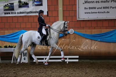 15.03.2014 Barockpferdeturnier  bei der Dressurgala auf Schloss Wickrath