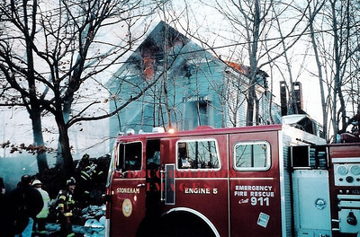 Stoneham, MA - 2nd Alarm, 166 William Street 2-19-04