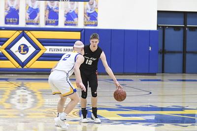 Iowa-Grant @ Lancaster Boys Basketball 2-13-20