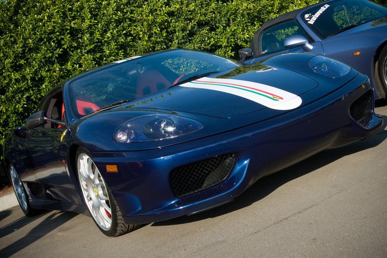 I am surprised to learn that the Challenge Stradale belongs to Justin (JChoice)...last time I saw him, he was driving a red 360 Modena