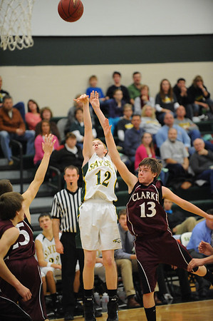 Boys Varsity Basketball - Clarke 2011- 2012
