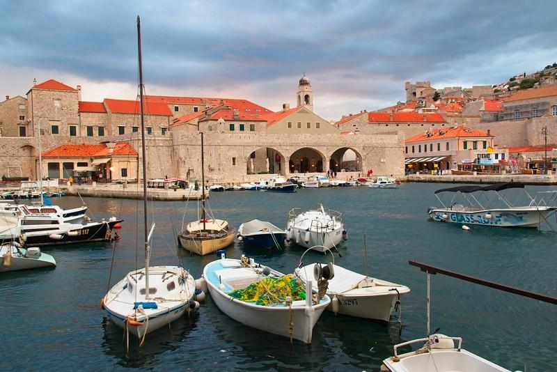 Old Port, Dubrovnik, Croatia