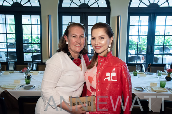 Dec 27, 2019 - Jean Shafiroff and Christine Schott Ledes host a Holiday Luncheon