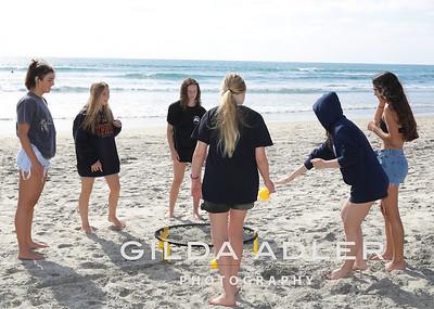 team bonding beach day small res