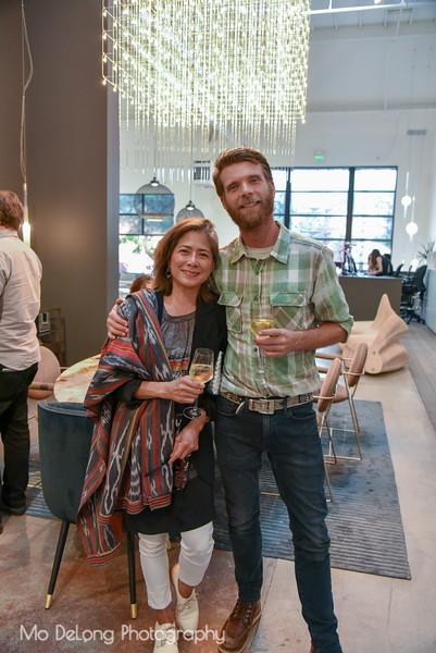 Ana Maria Delgado and Florian Roeper