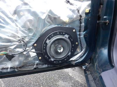 1995 mitsubishi Eclipse GS Front Door Speaker Installation - USA
