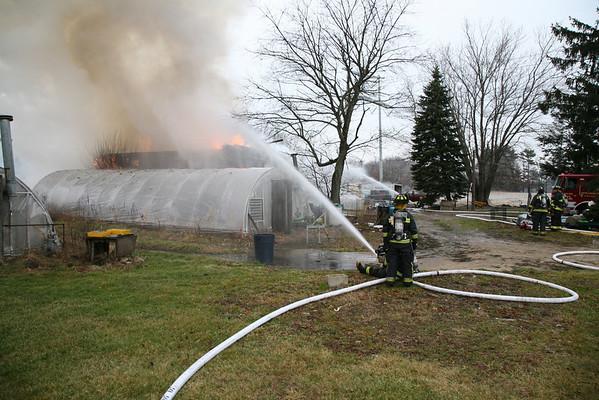 E. Bwater/Hanson Barn Fire