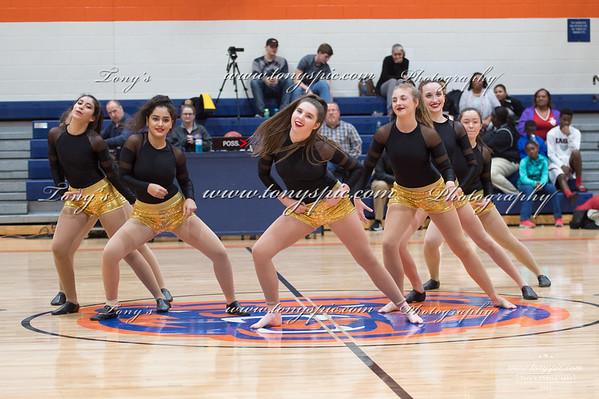 Dance Team at Ridgeland game  5 Dec 2017