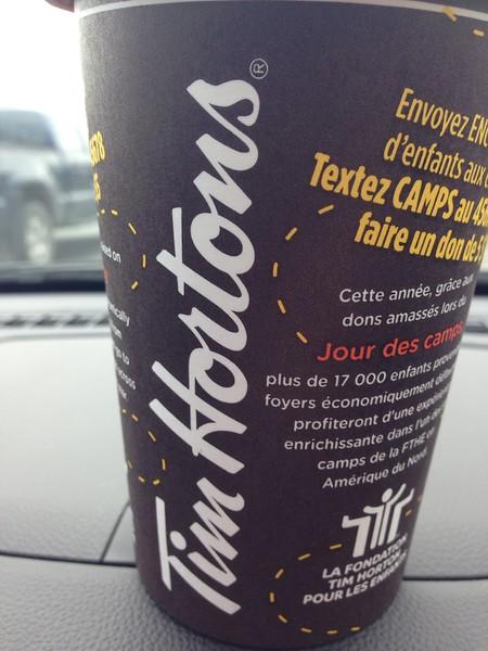 tim hortons canadian delicacies