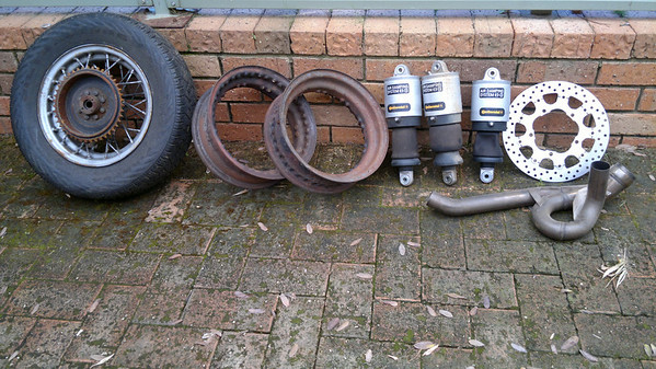 3 Wire wheels